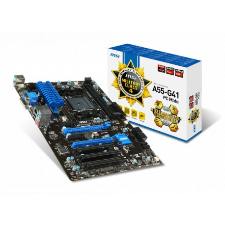 MSI A55-G41 PC Mate | A55 | FM2+ | DDR3 | ATX