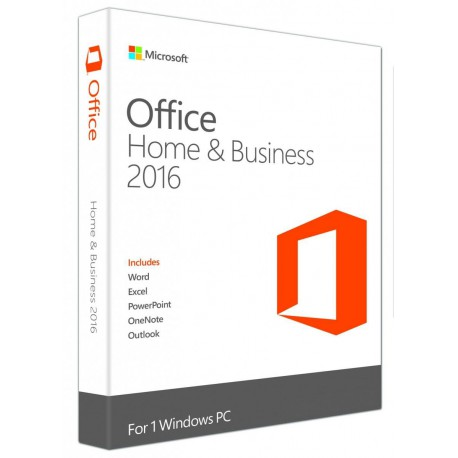 OFFICE 2016 Home and Business 32-bit/x64 Polish Eurozone Medialess
