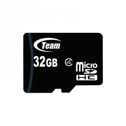 KARTA PAMIĘCI microSDHC TEAM GROUP Class 4 32GB + Adapter SD