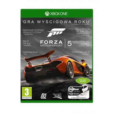 GRA XBOX ONE Forza Motorsport 5 Game Of The Year Edition