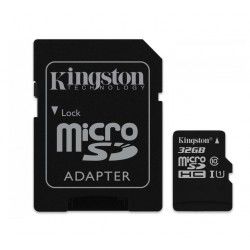 KARTA PAMIĘCI 32GB Micro SecureDigital Class 10 + AdapterSD /KINGSTON