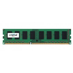 PAMIĘĆ RAM CRUCIAL 8GB, DDR3L, 1600MHz (Low Voltage)