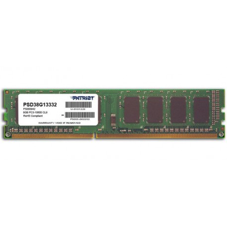 PAMIĘĆ RAM PATRIOT Signature 8GB, DDR3, 1333MHz