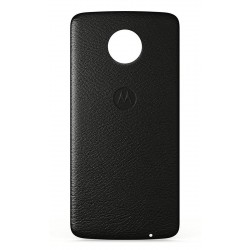 ETUI LENOVO Moto Mods Style Caps (ASMCAPBKLREU) Black Leather