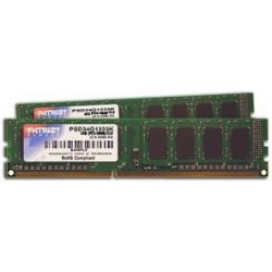 PAMIĘĆ RAM PATRIOT Signature 4GB (2x2GB), DDR3, 1333MHz