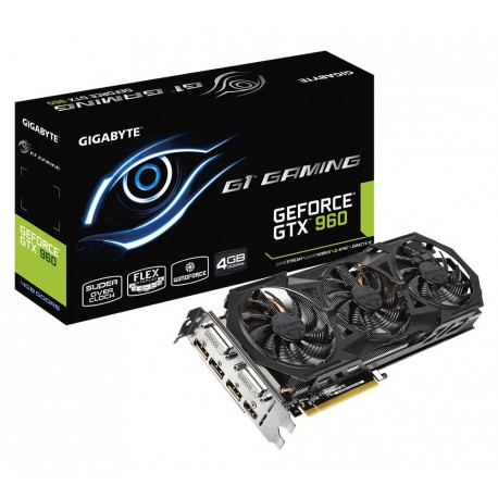 GIGABYTE GeForce GTX 960 GAMING G1 | 4GB | GDDR5 | 128 bit | 2xDVI/HDMI/3xDP