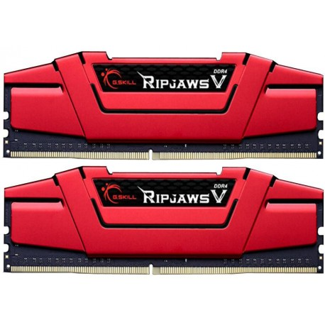 DIMM 16GB (2x8GB) RipjawsV DDR4 3000MHz CL15 rev2 XMP2 Red / G.SKILL