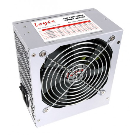 ATX | 500W | pasywne PFC | fan 120 mm | 4xMOLEX | 1xFDD | 1x20+4 PIN