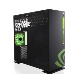 IN WIN 303 NVIDIA VERSION / 2x USB 2.0 / 2x USB 3.0 / 120 mm / Czarna