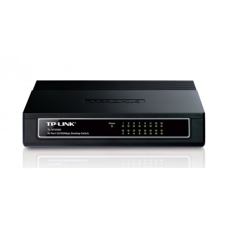 SWITCH TP-LINK TL-SF1016D 16 portów RJ45 10/100 Mb/s