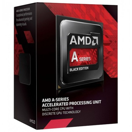 PROCESOR AMD APU A10-7800 / 3.50 GHz / FM2+ /4M CACHE / Black Edition / BOX