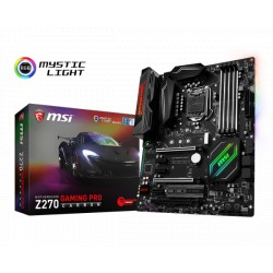 MSI Z270 GAMING PRO CARBON /Z270 /LGA 1151 /DDR4 /ATX