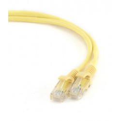 KABEL sieciowy FTP Patch cord kat.5e GEMBIRD PP22-1M/Y (1 m)