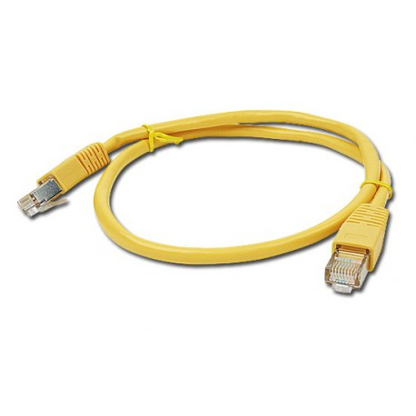 KABEL sieciowy FTP Patch cord kat.5e GEMBIRD PP22-2M/Y (2 m)