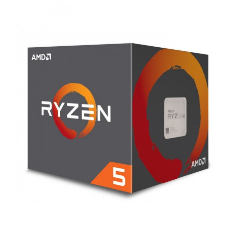 Ryzen 5 1400 Quad Core Processor, Wraith Stealth fan, AM4, 3.2GHz, 8MB cache, 65W