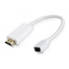 Adapter mini DisplayPort do HDMI biały Gembird