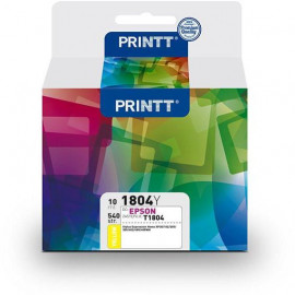 Tusz PRINTT do EPSON NAE1804Y (T1804) yellow 10 ml