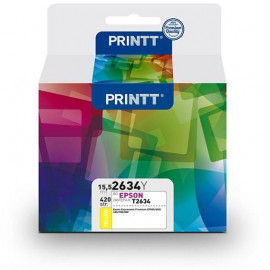 Tusz PRINTT do EPSON NAE2634Y (T2634) yellow 15,5 ml