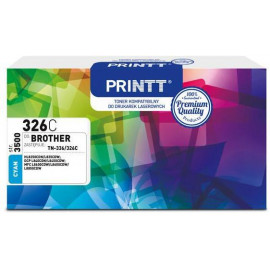 Toner PRINTT do BROTHER NTB326C (TN-336/326) cyan 3500 str.