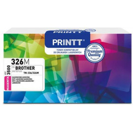 Toner PRINTT do BROTHER NTB326M (TN-336/326) magenta 3500 str.