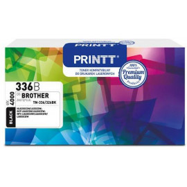 Toner PRINTT do BROTHER NTB336B (TN-336/326) czarny 4000 str.