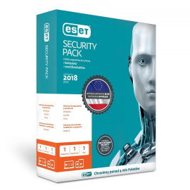 Eset Security Pack BOX 1 rok (1 komputer + 1 smartfon)