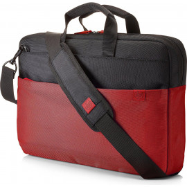 Torba HP Duotone Briefcase do notebooka 15.6&quot, (czarno-czerwona)