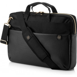 Torba HP Pavilion Accent Briefcase do notebooka 15.6&quot, (czarno-złota)
