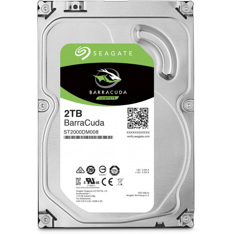 Dysk HDD Seagate Barracuda 2TB 256MB