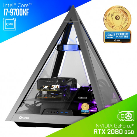 "Komputer do gier HIRO ""Pyramid"" - Intel Extreme Masters Certified PC 2020"