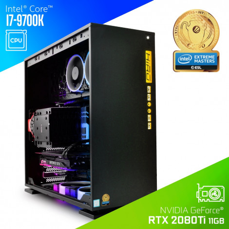 Komputer do gier HIRO 303 Z370i7K9-H324 - Intel Extreme Masters Certified PC 2020