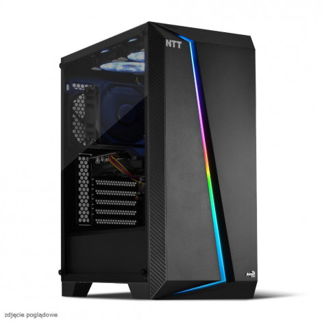 Komputer do gier NTT Game X - Ryzen 7 3700, RTX 2080 SUPER 8GB, 16GB RAM, 1TB SSD M.2, W10