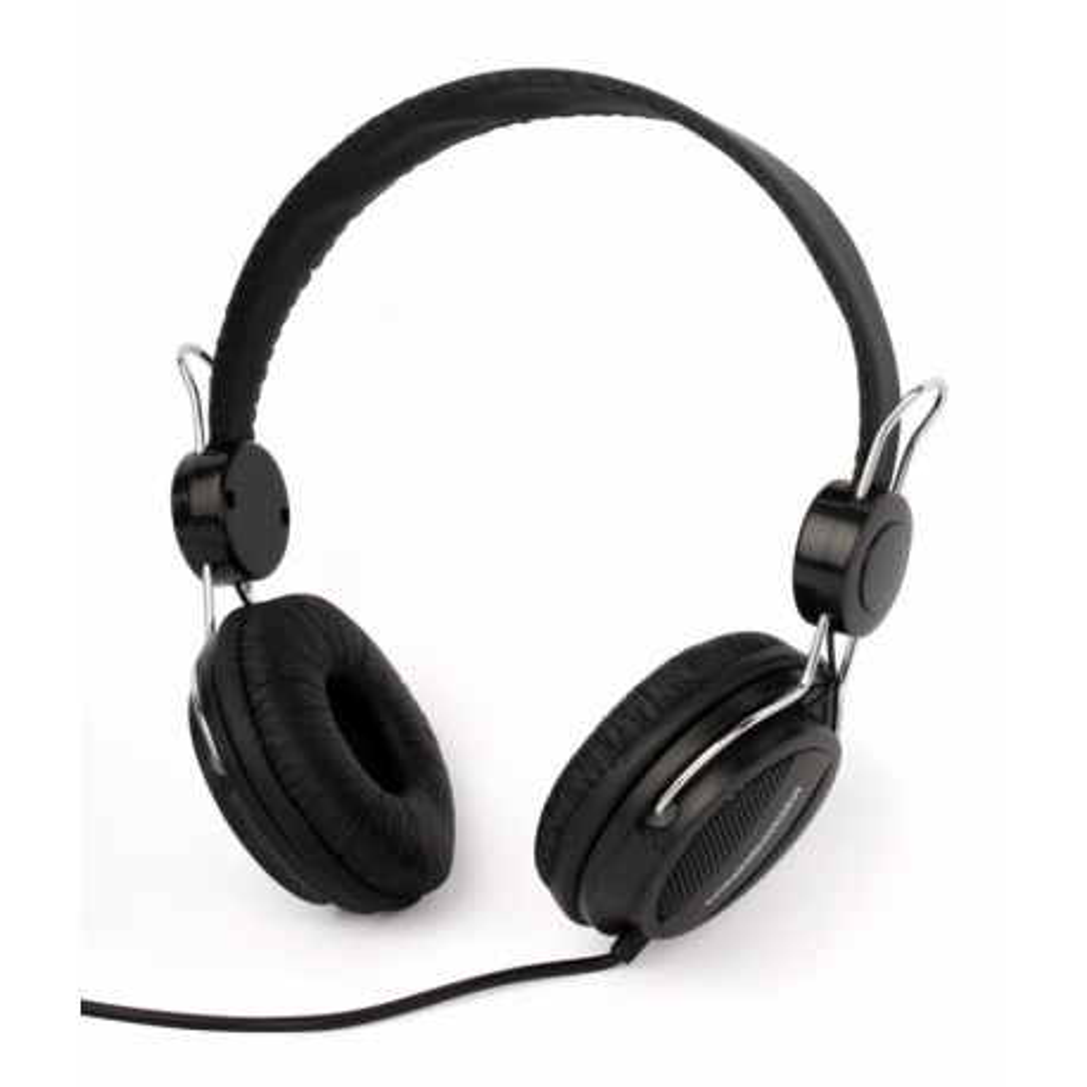 SŁUCHAWKI nauszne MC-400 z mikrofonem, czarne / MODECOM