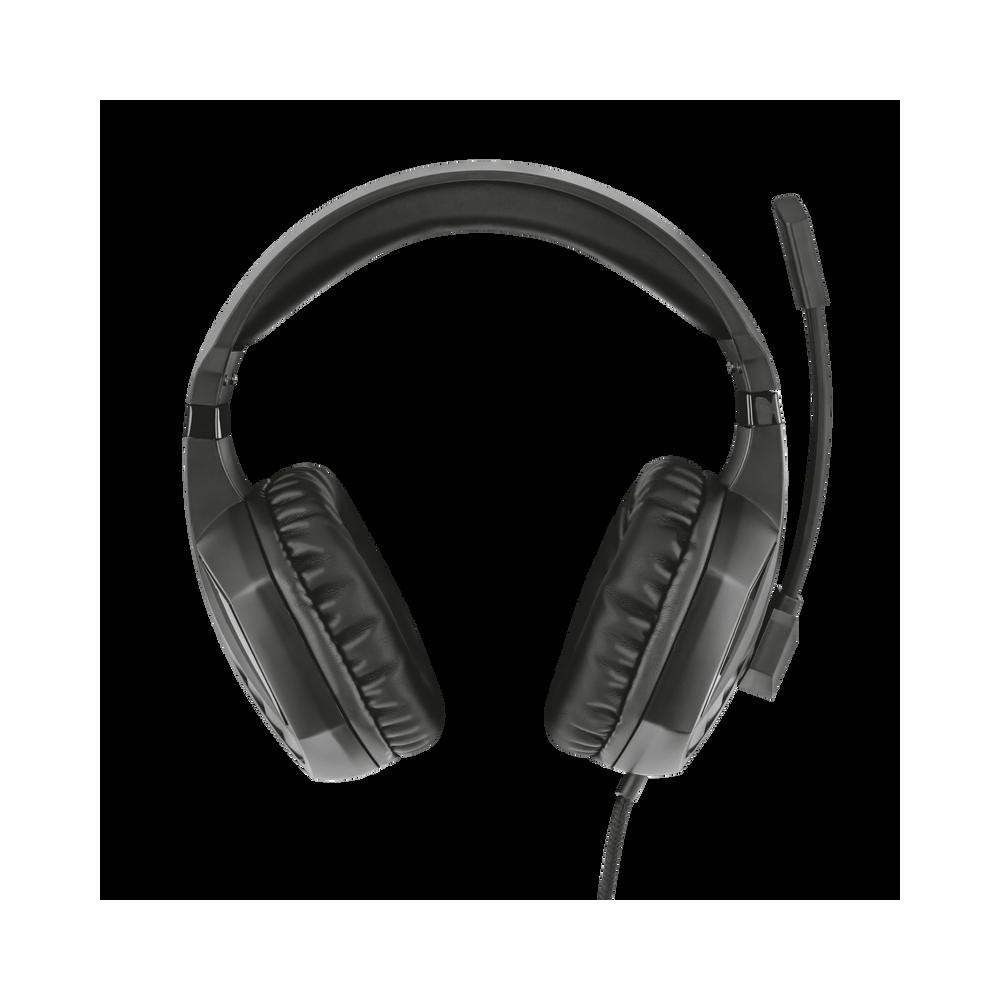 SŁUCHAWKI nauszne MC-880 BIG ONE z mikrofonem, niebieskie / MODECOM
