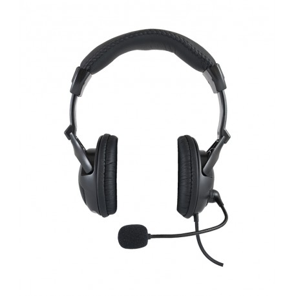 SŁUCHAWKI nauszne Logic LH-40 z mikrofonem, czarne / LOGIC