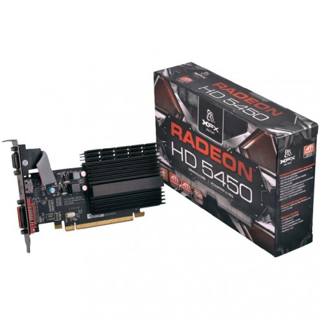 XFX Radeon HD 5450 | 1GB | DDR3 | HDMI/DVI/D-Sub | Low Profile
