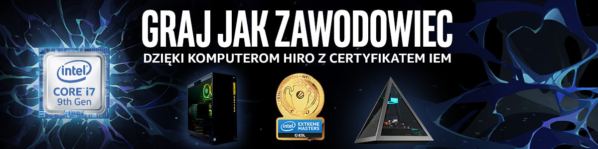 Komputery Intel Extreme Masters Certified PC 2020
