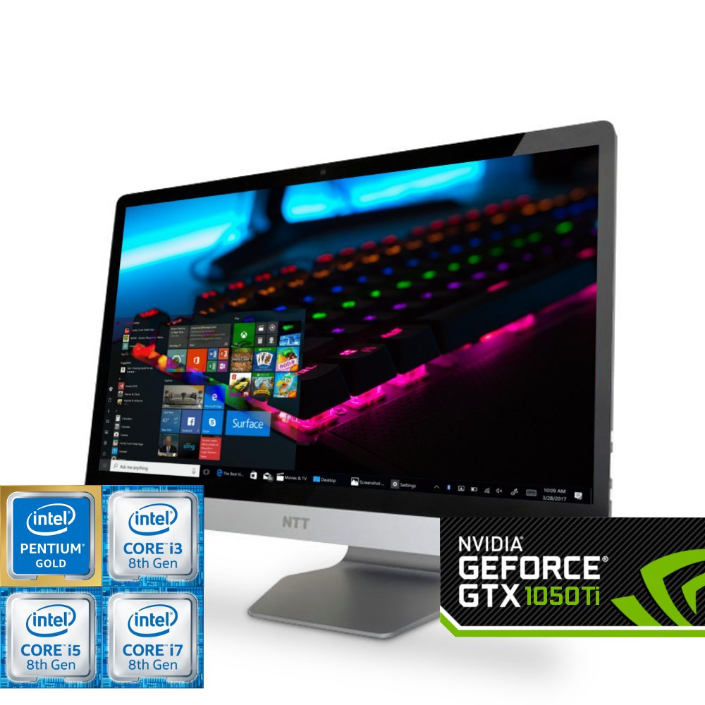 Komputer do gier NTT Game All in One WIBL35GP (Pentium G5400/i3-8100/i5-8400/i7-8700) Nvidia GeForce GTX 1050Ti
