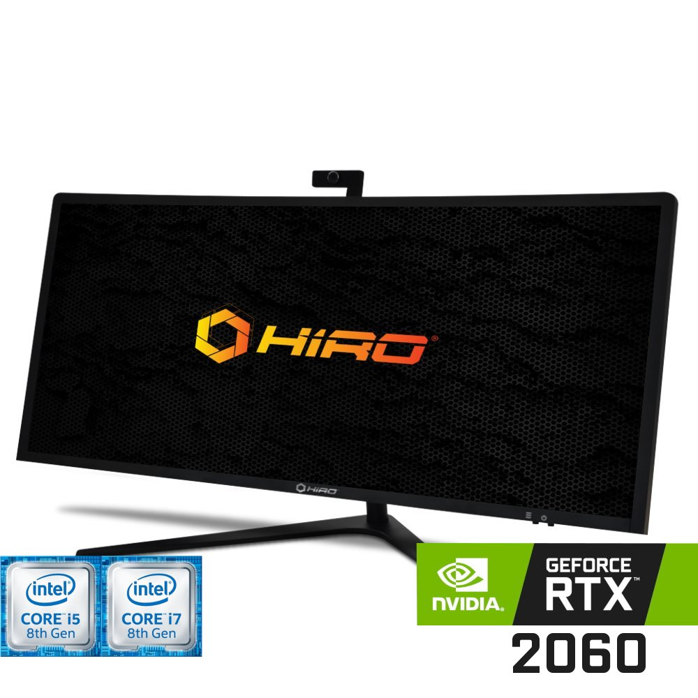 Komputer do gier HIRO All in One LP4034 (i5-8400/i7-8700) Nvidia GeForce RTX 2060