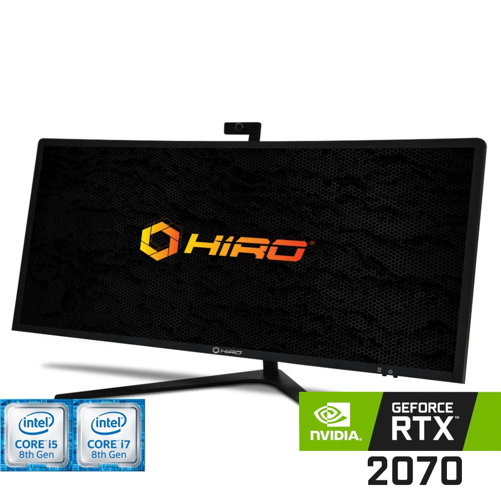 Komputer do gier HIRO All in One LP4034 (i5-8400/i7-8700) Nvidia GeForce RTX 2070