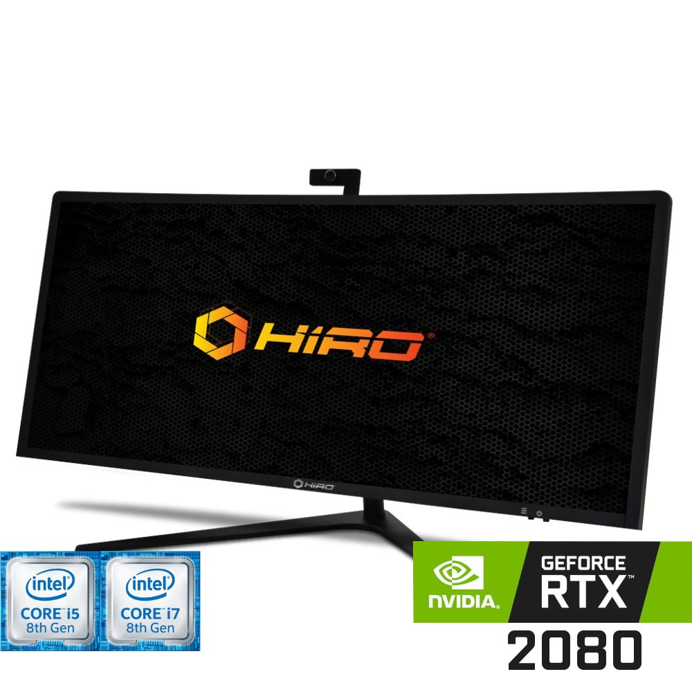 Komputer do gier HIRO All in One LP4034 (i5-8400/i7-8700) Nvidia GeForce RTX 2080