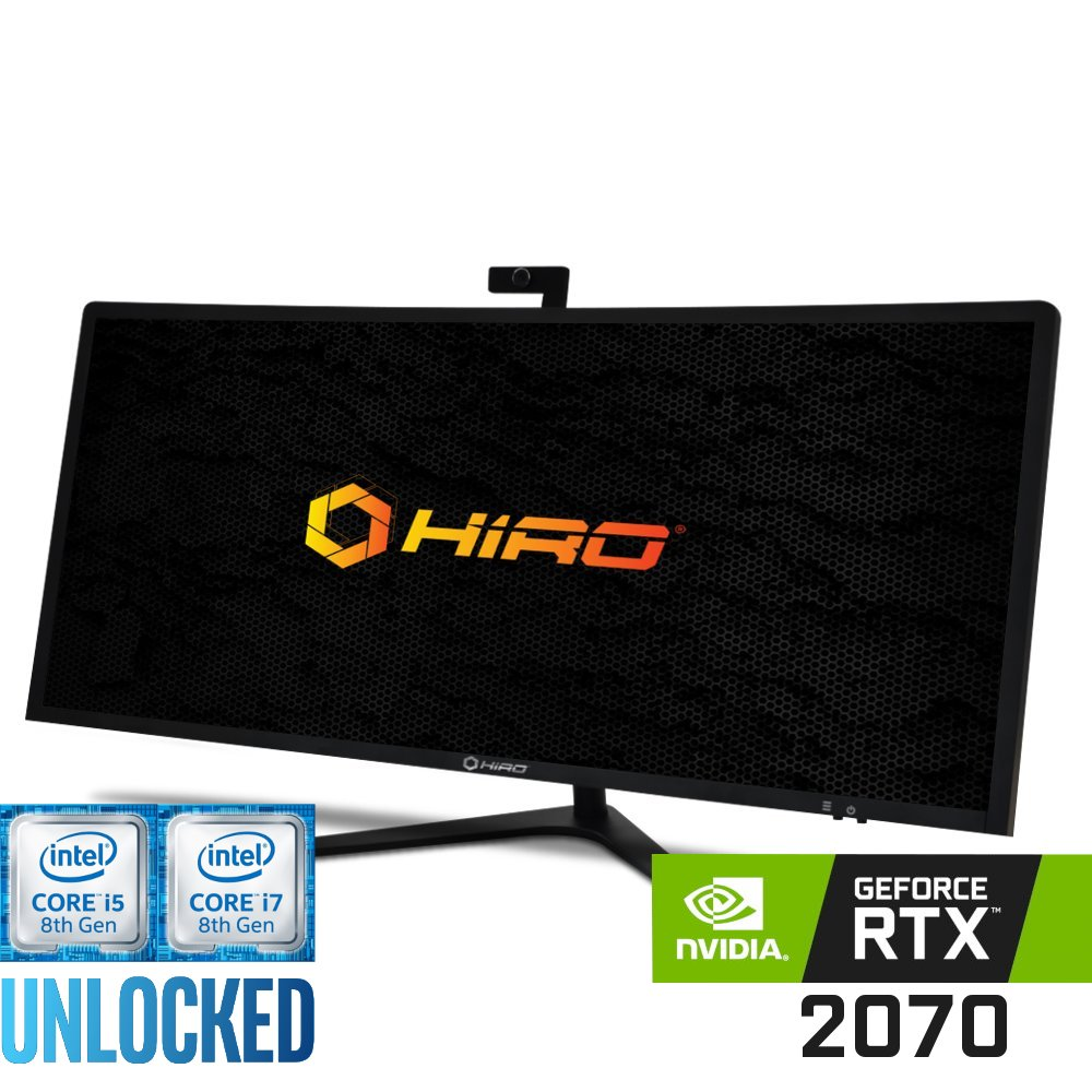 Komputer do gier HIRO All in One LP4034 (i5-8600K/i7-8700K) Nvidia GeForce RTX 2070