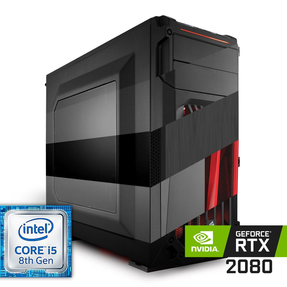 Komputer NTT Game R Intel Core i5 8-gen + RTX 2080