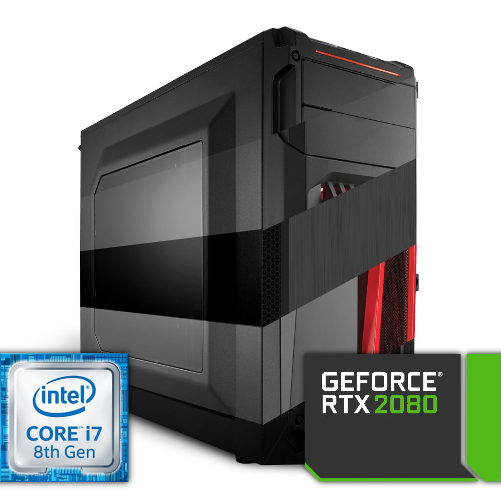 Komputer NTT Game Intel Core i7 8-gen + RTX 2080