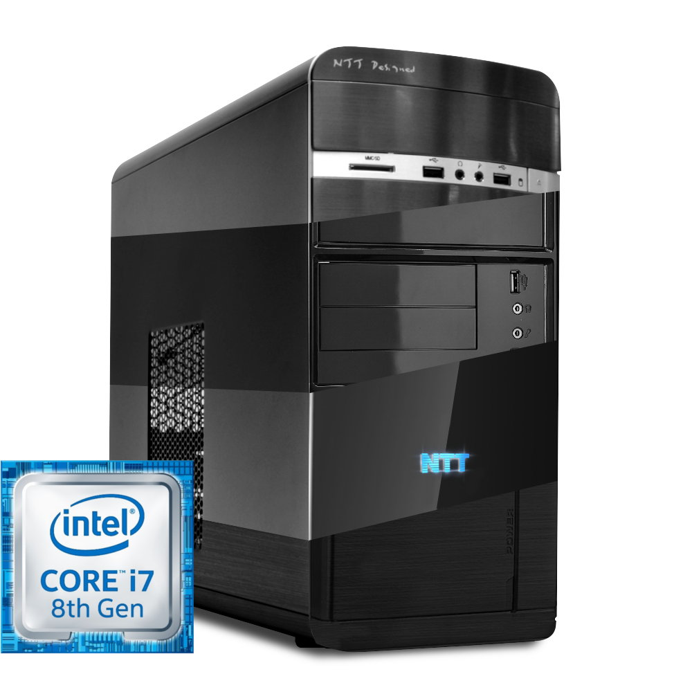 Komputer NTT Office Intel Core i7-8700 + H310/B360