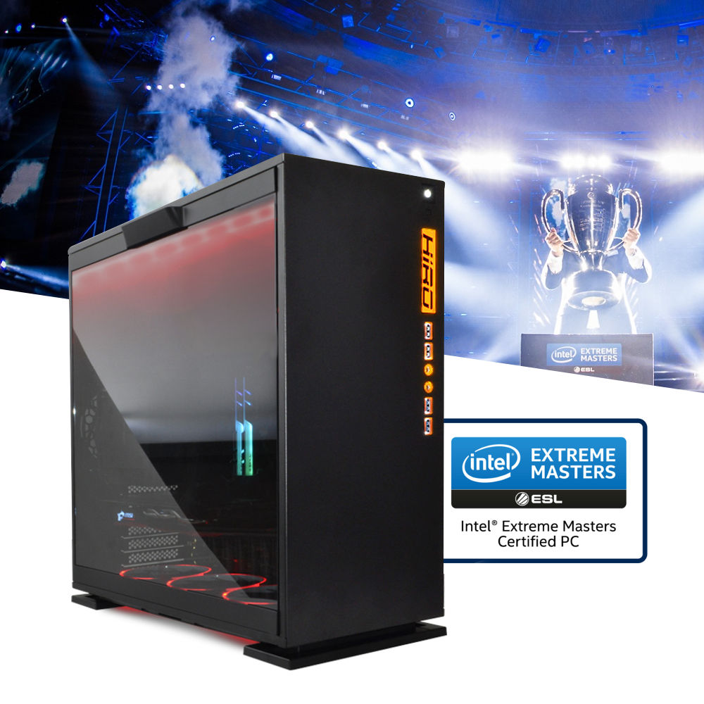 Komputery do gier NTT Intel Extreme Masters Certified PC 2018